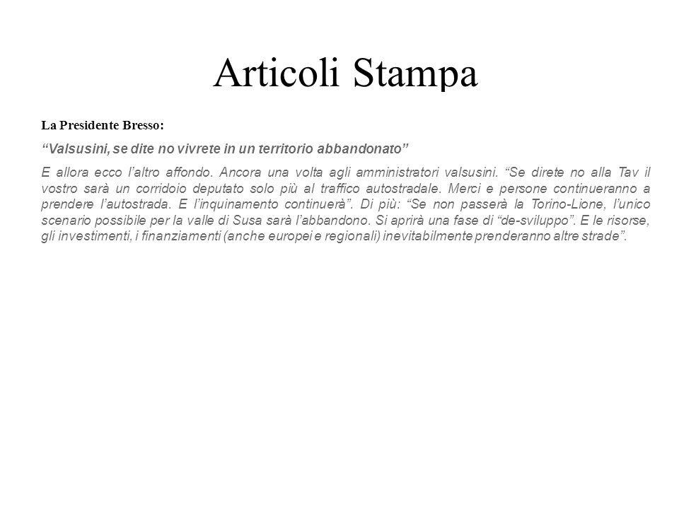Articoli Stampa Anno 2005 Anno 2008 Giovedì 8 marzo 2007