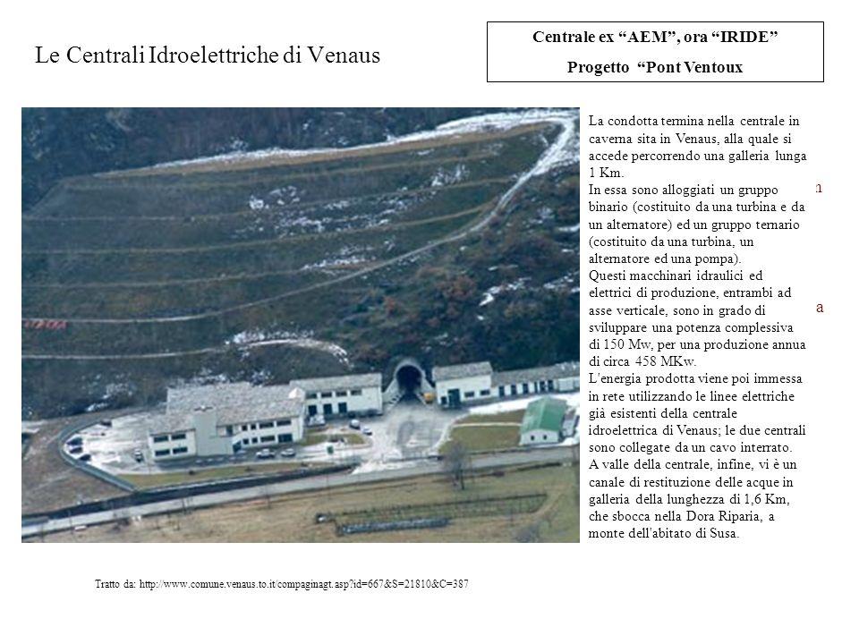 Le Centrali Idroelettriche di Venaus