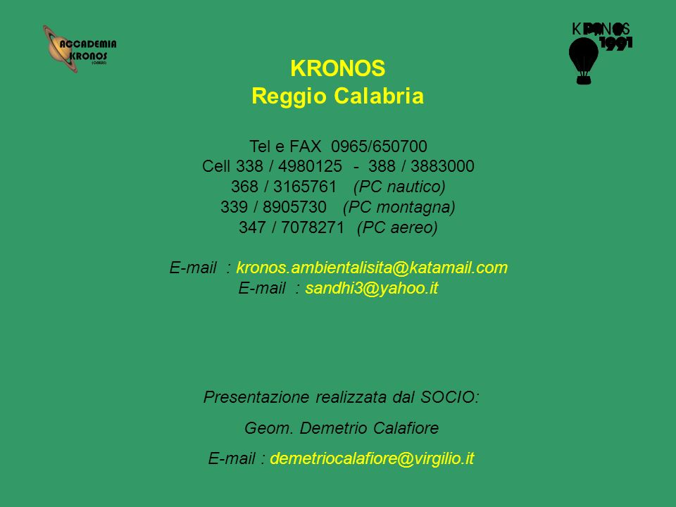 KRONOS Reggio Calabria