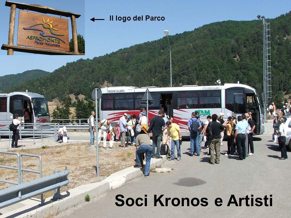 Il logo del Parco Soci Kronos e Artisti