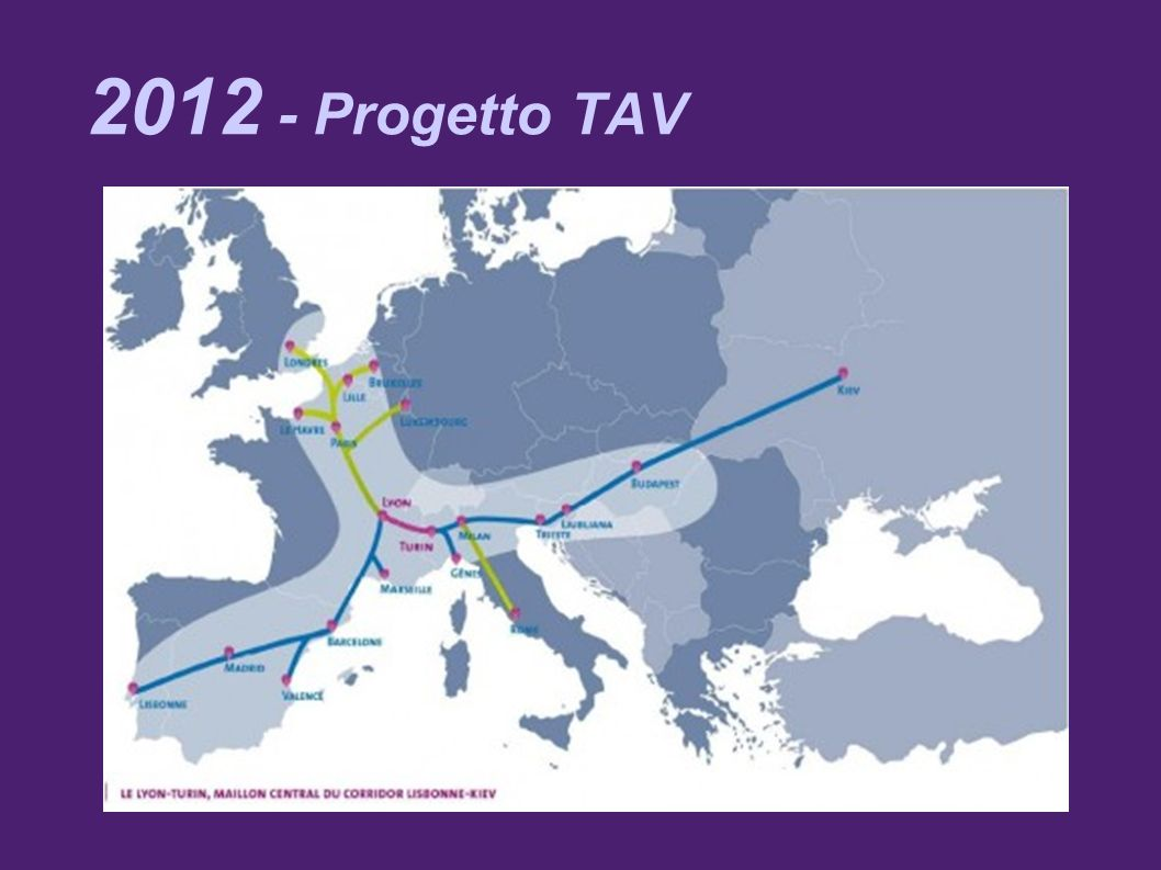 2012 - Progetto TAV