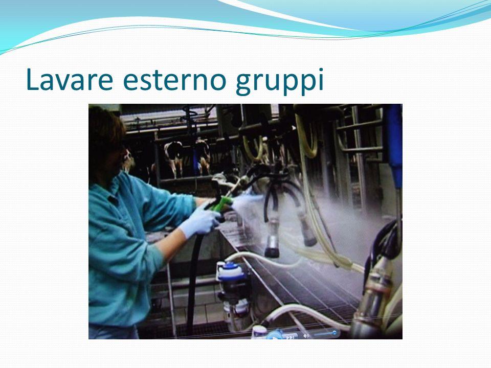 Lavare esterno gruppi