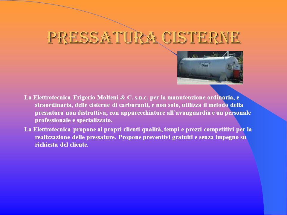 Pressatura Cisterne