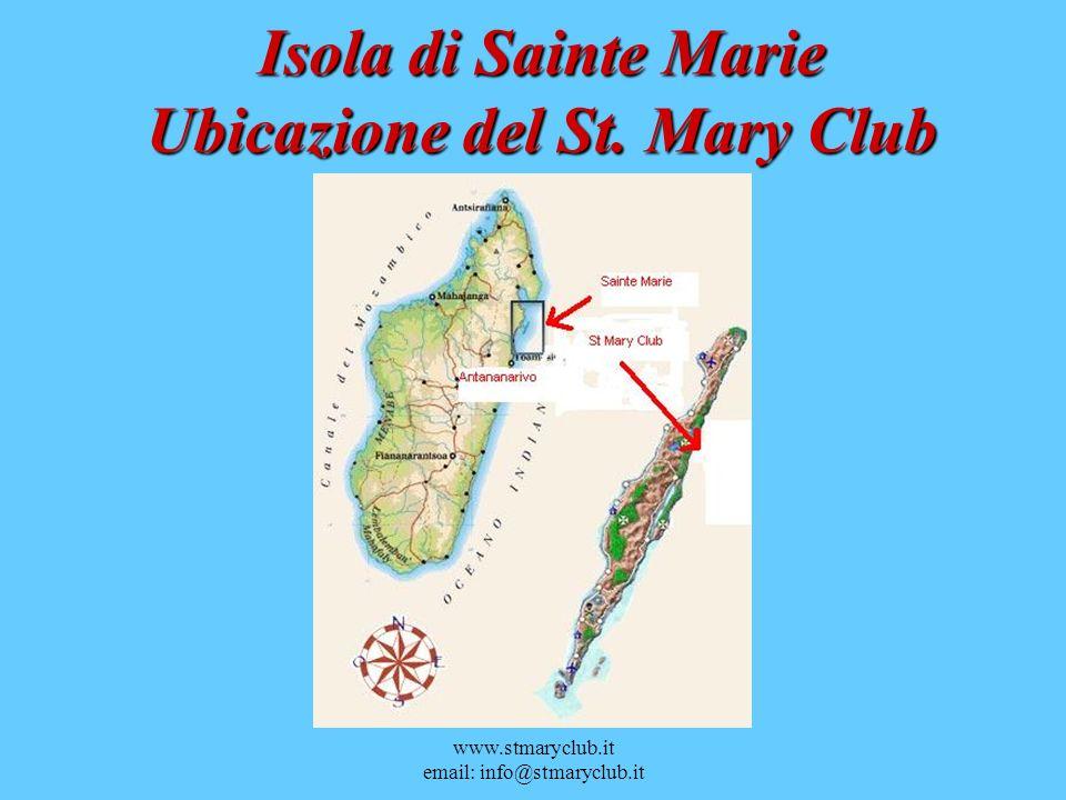 Isola di Sainte Marie Ubicazione del St. Mary Club