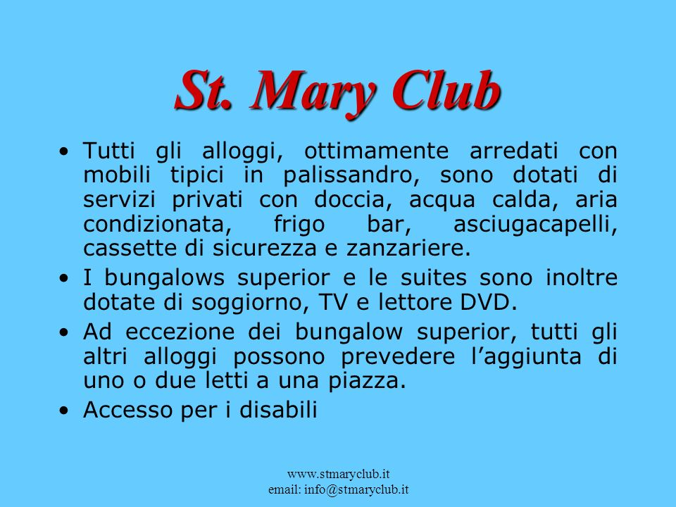 St. Mary Club