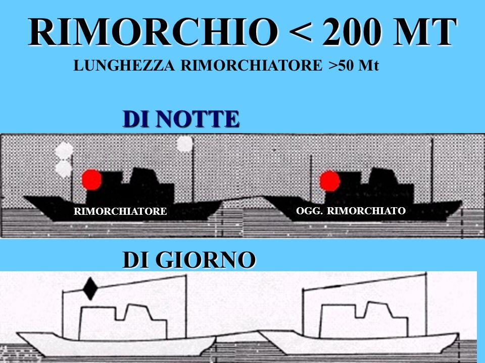 LUNGHEZZA RIMORCHIATORE >50 Mt