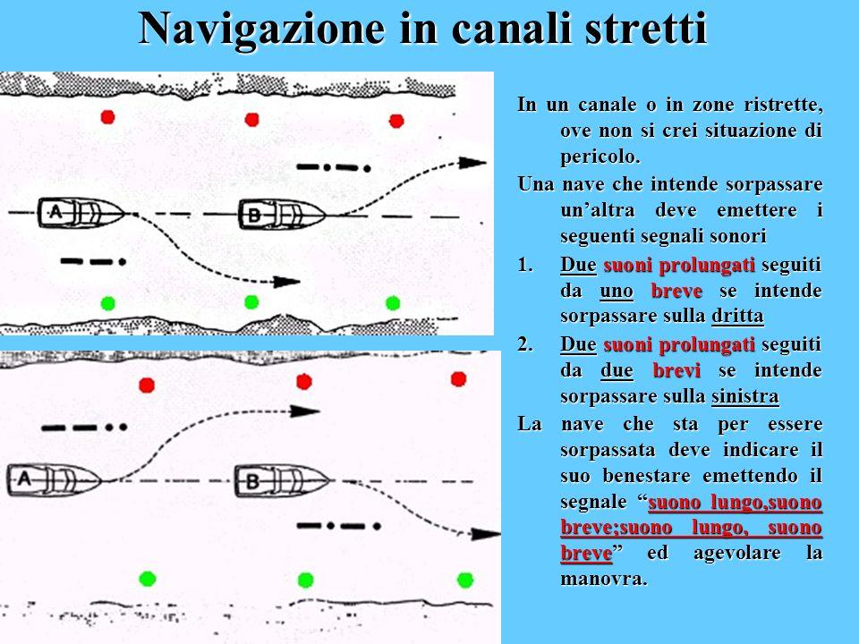 Navigazione in canali stretti