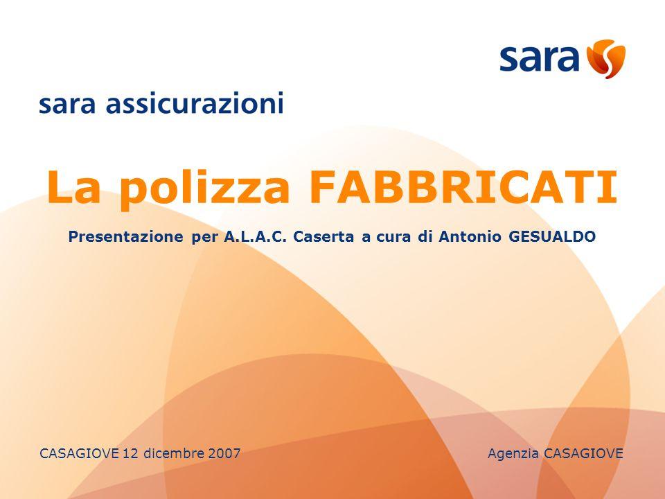 Presentazione per A.L.A.C. Caserta a cura di Antonio GESUALDO