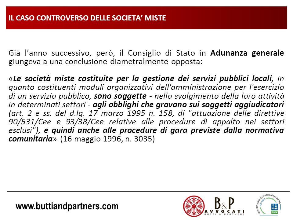 IL CASO CONTROVERSO DELLE SOCIETA' MISTE