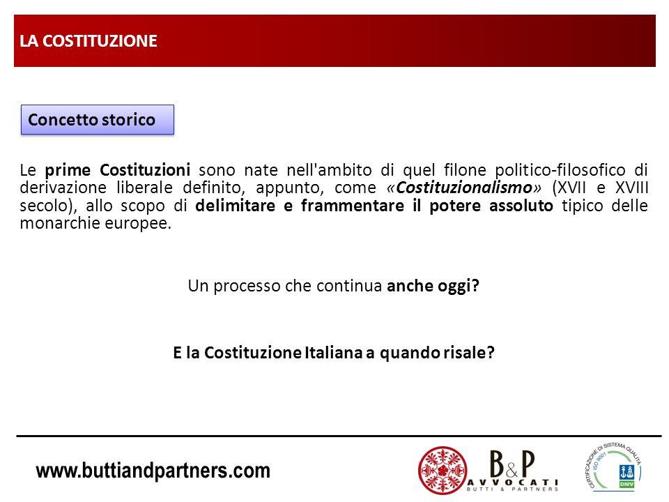 E la Costituzione Italiana a quando risale