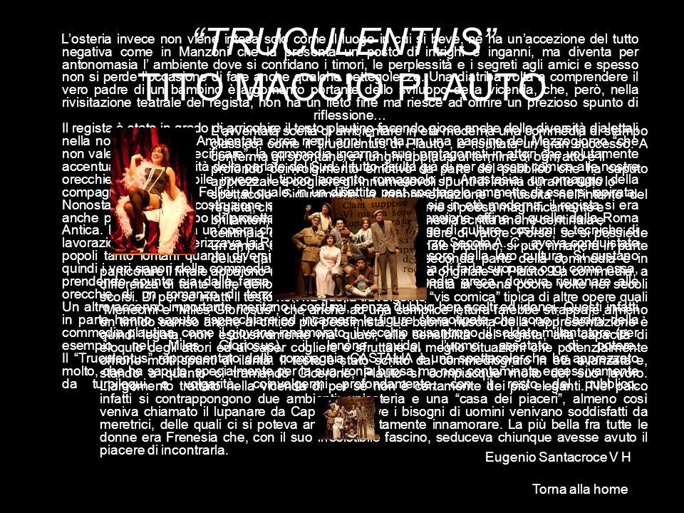 TRUCULENTUS TITO MACCIO PLAUTO