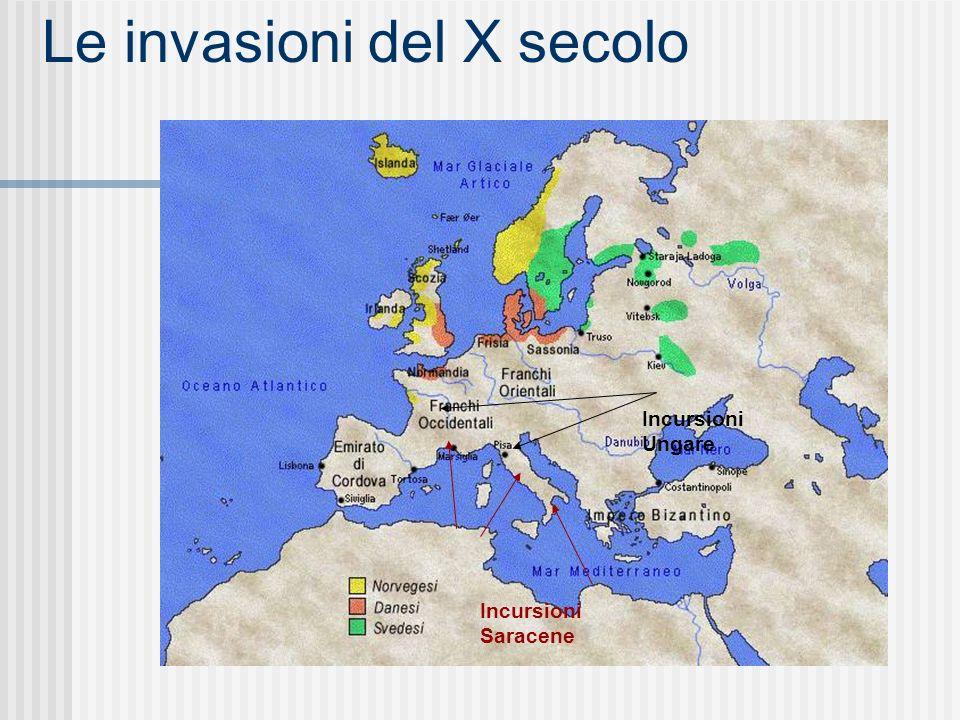 Le invasioni del X secolo