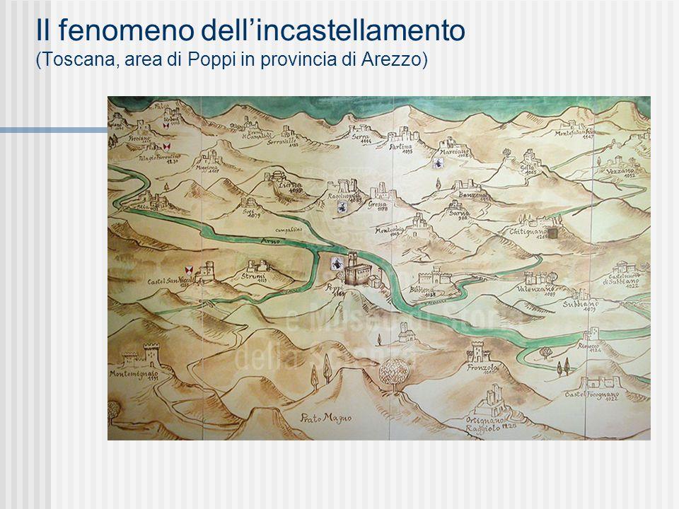 Il fenomeno dell'incastellamento (Toscana, area di Poppi in provincia di Arezzo)