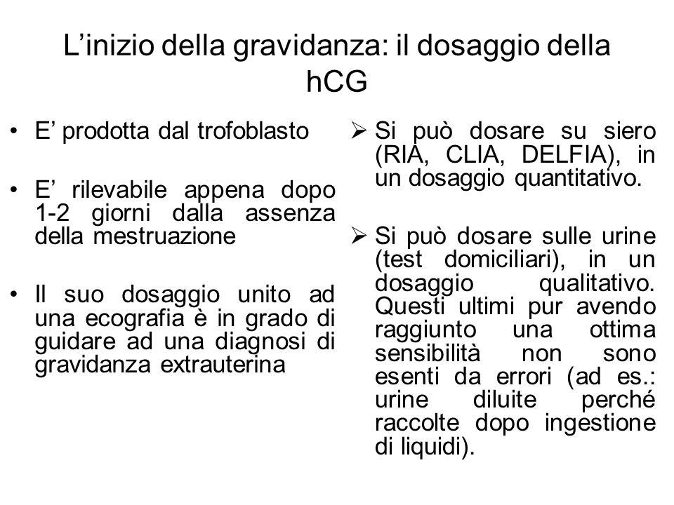 L'inizio della gravidanza: il dosaggio della hCG