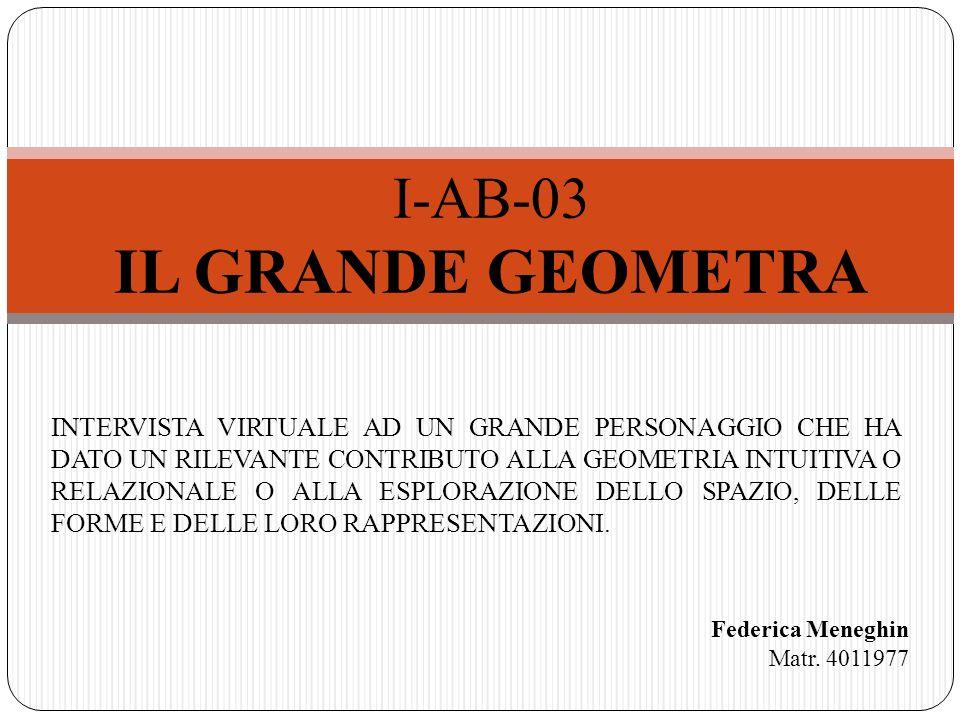 IL GRANDE GEOMETRA I-AB-03