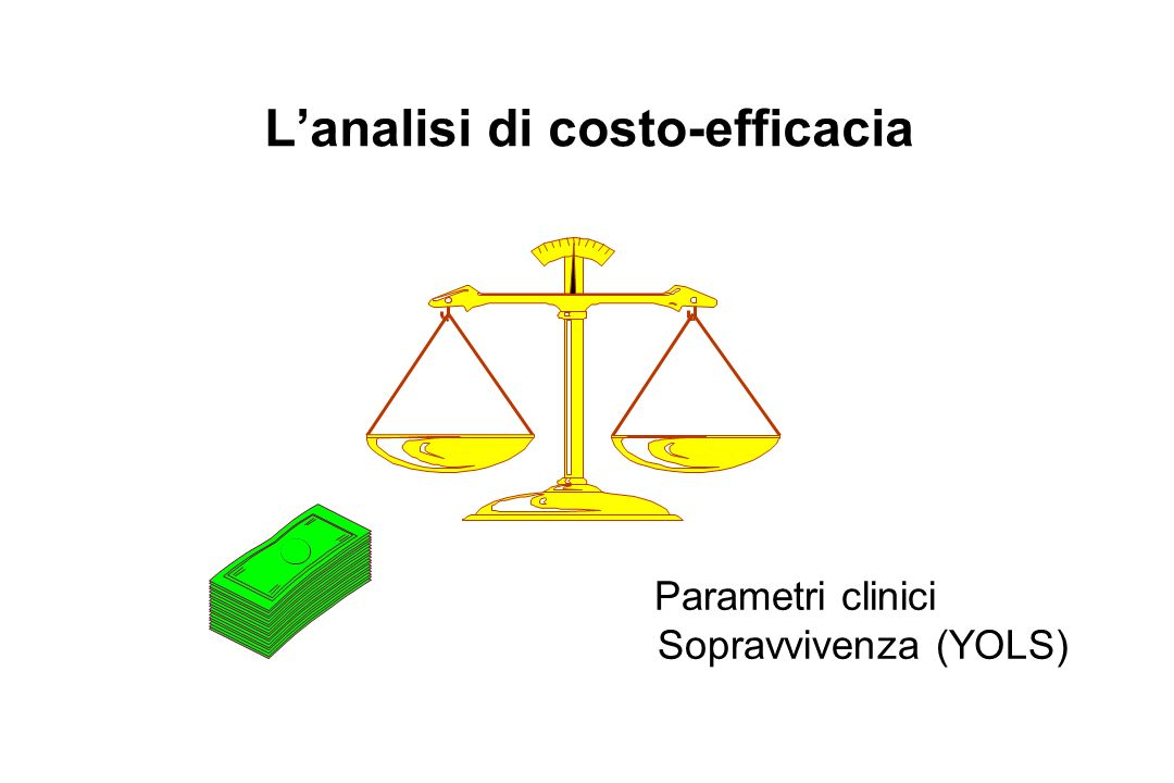 L'analisi di costo-efficacia
