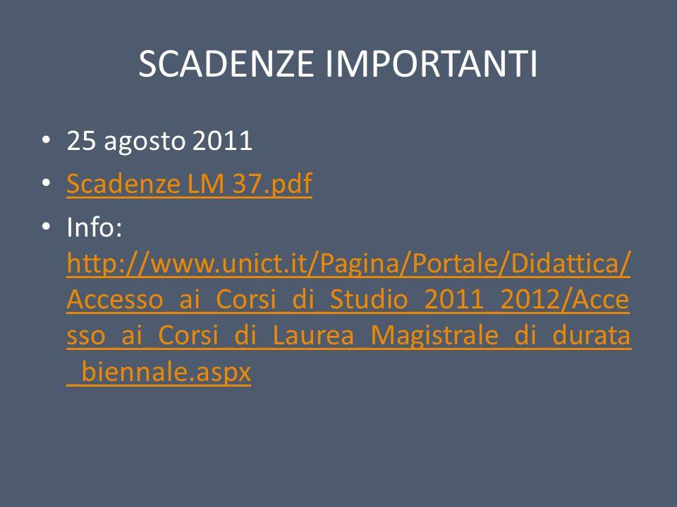 SCADENZE IMPORTANTI 25 agosto 2011 Scadenze LM 37.pdf