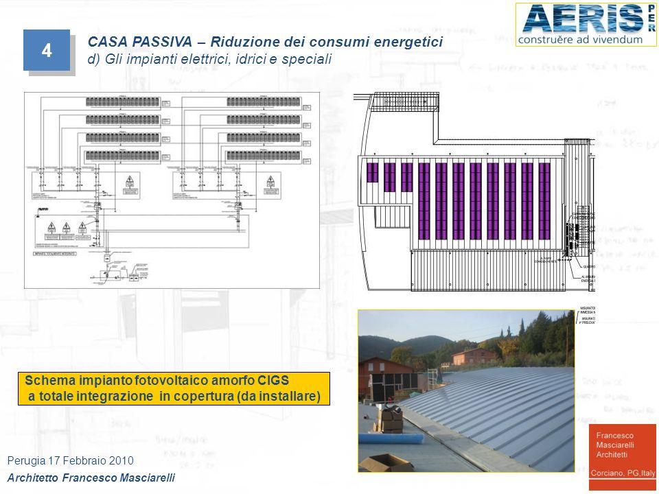4 CASA PASSIVA – Riduzione dei consumi energetici