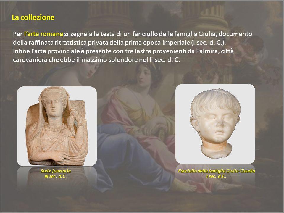 Fanciullo della famiglia Giulio-Claudia