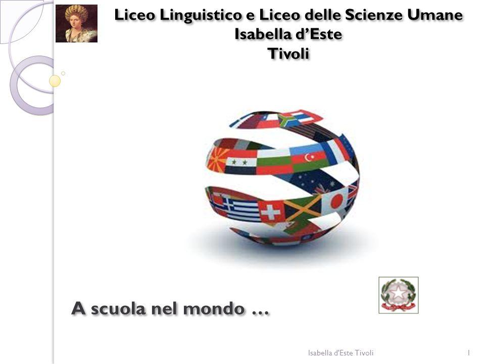 Liceo Linguistico e Liceo delle Scienze Umane