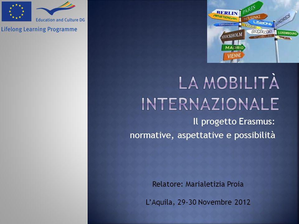 La mobilità internazionale