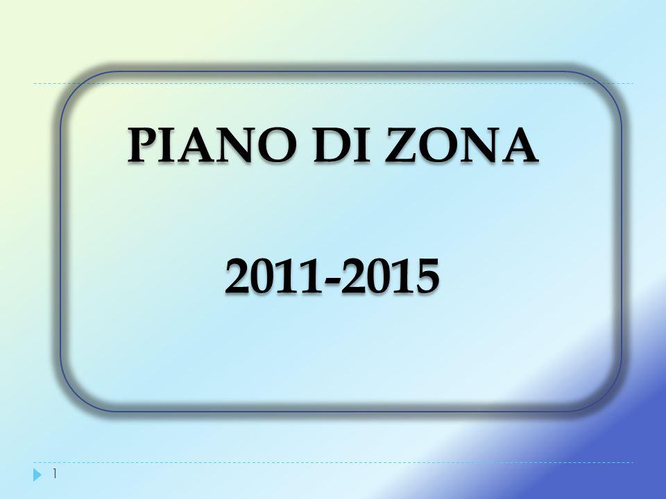 PIANO DI ZONA 2011-2015