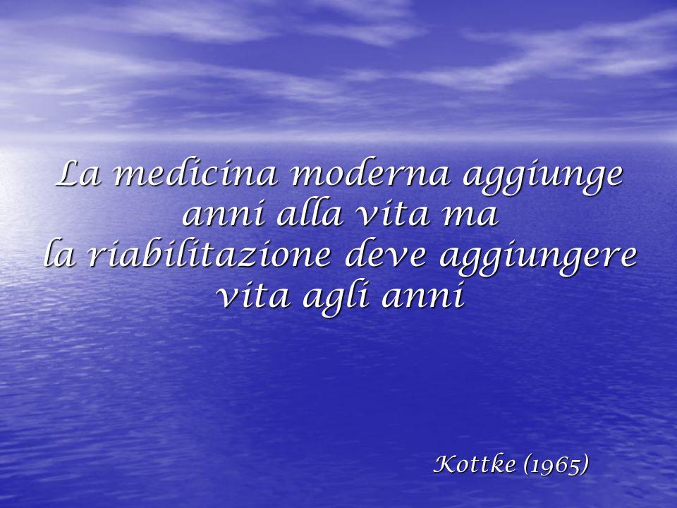 La medicina moderna aggiunge anni alla vita ma