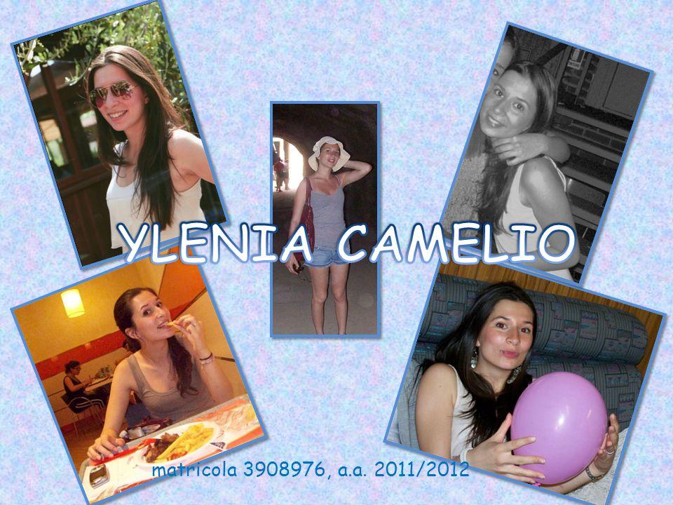 YLENIA CAMELIO matricola 3908976, a.a. 2011/2012