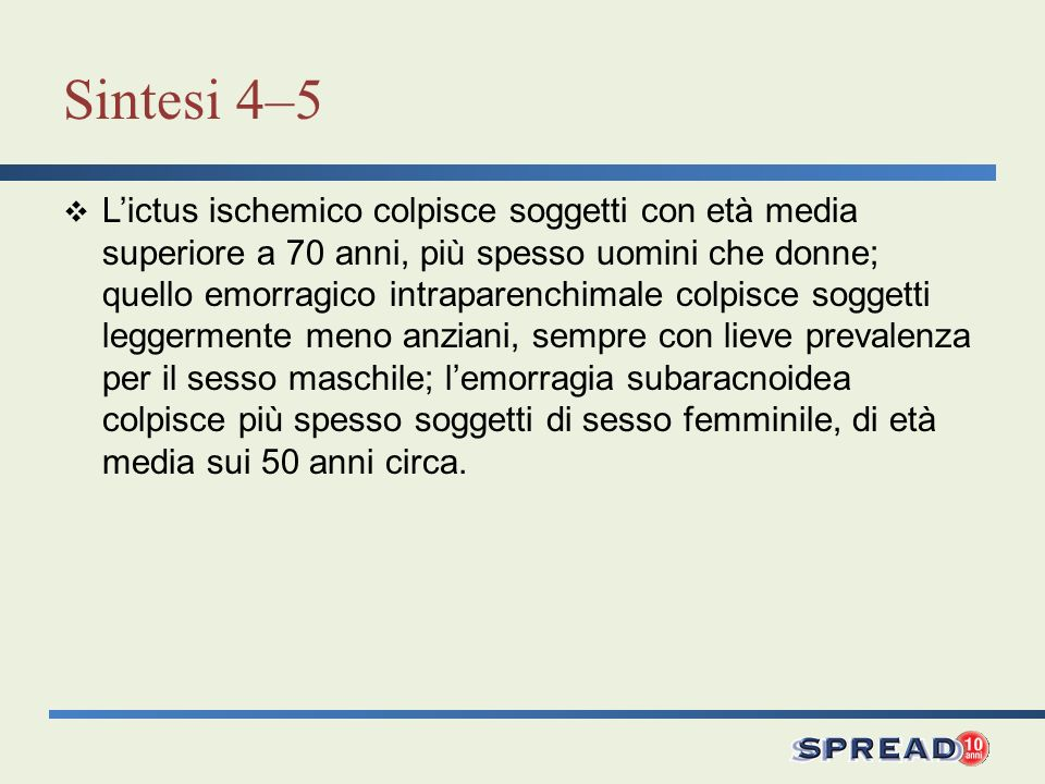 Sintesi 4–5