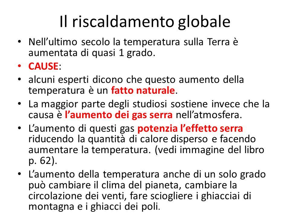 Il riscaldamento globale