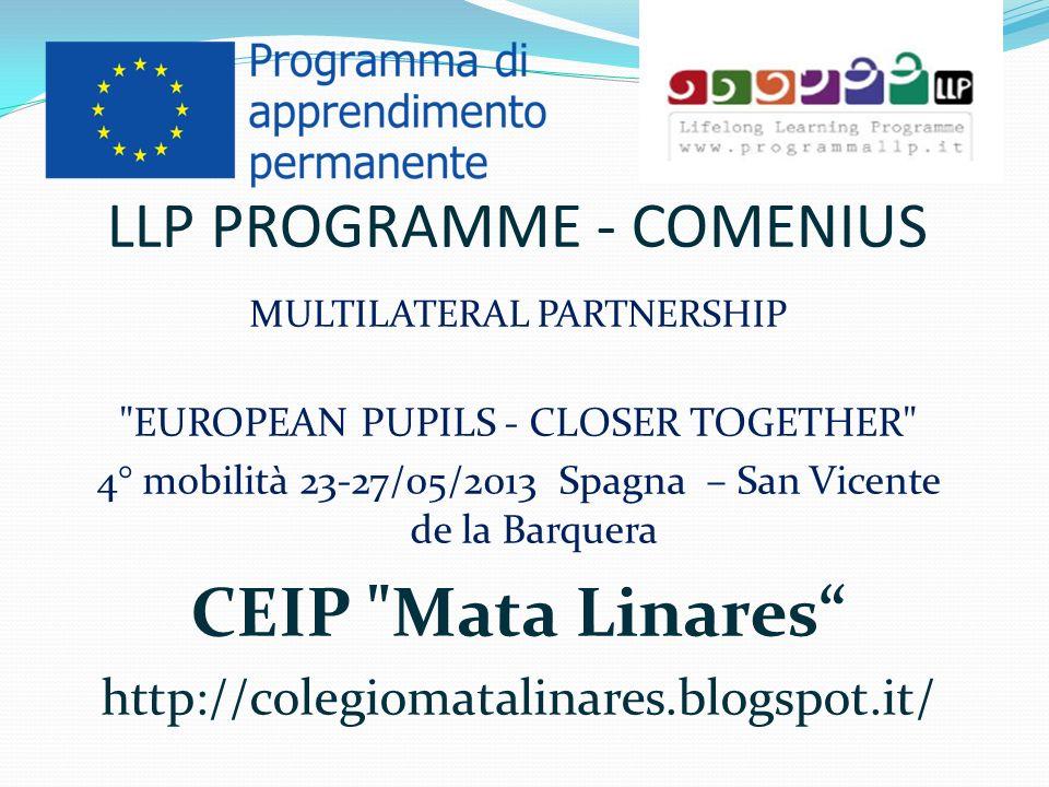 LLP PROGRAMME - COMENIUS