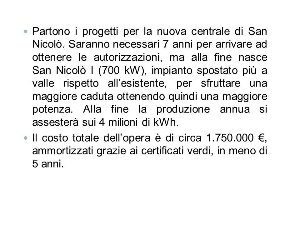 Partono i progetti per la nuova centrale di San Nicolò