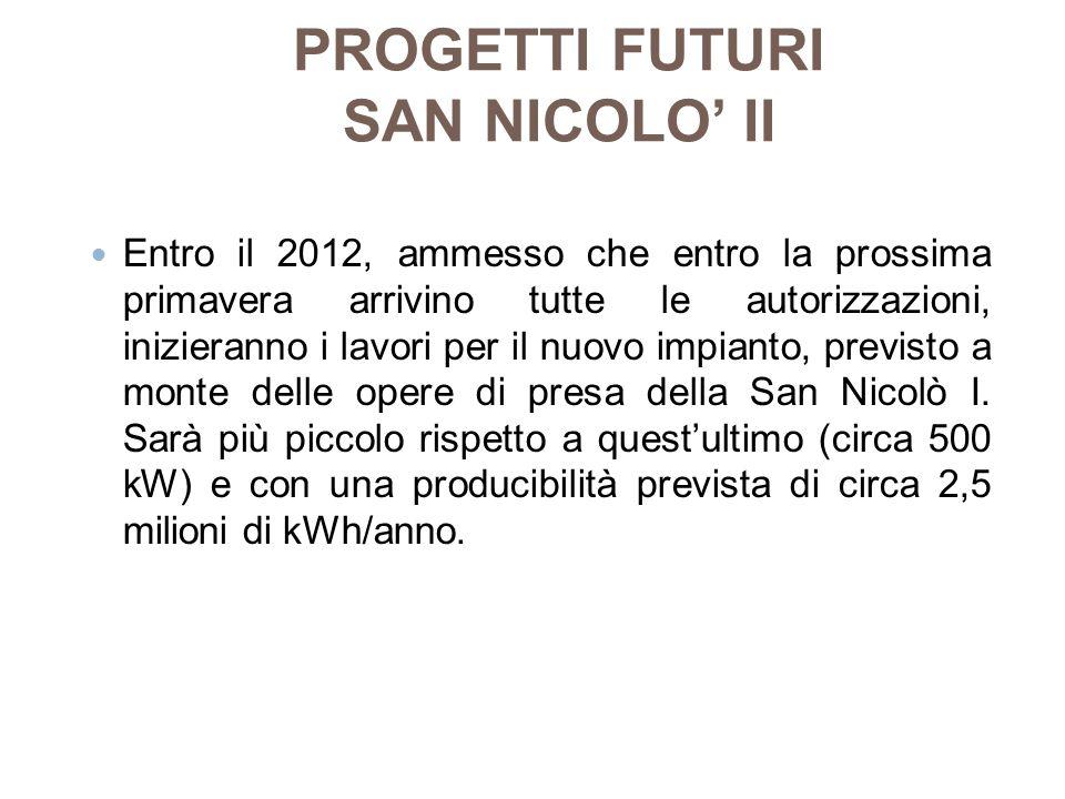 PROGETTI FUTURI SAN NICOLO' II