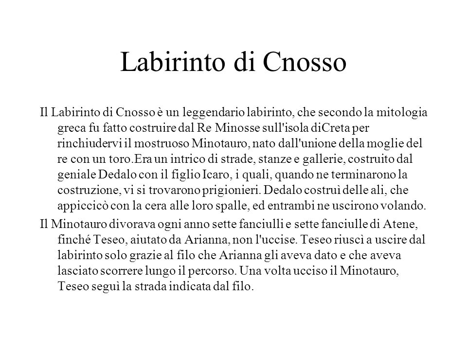 Labirinto di Cnosso