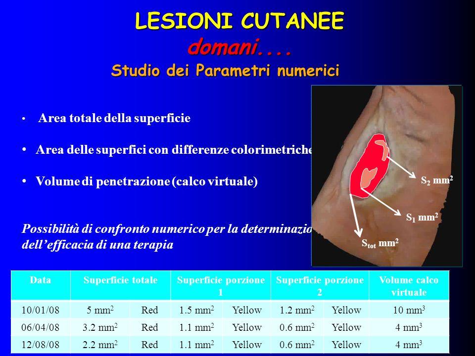 Studio dei Parametri numerici