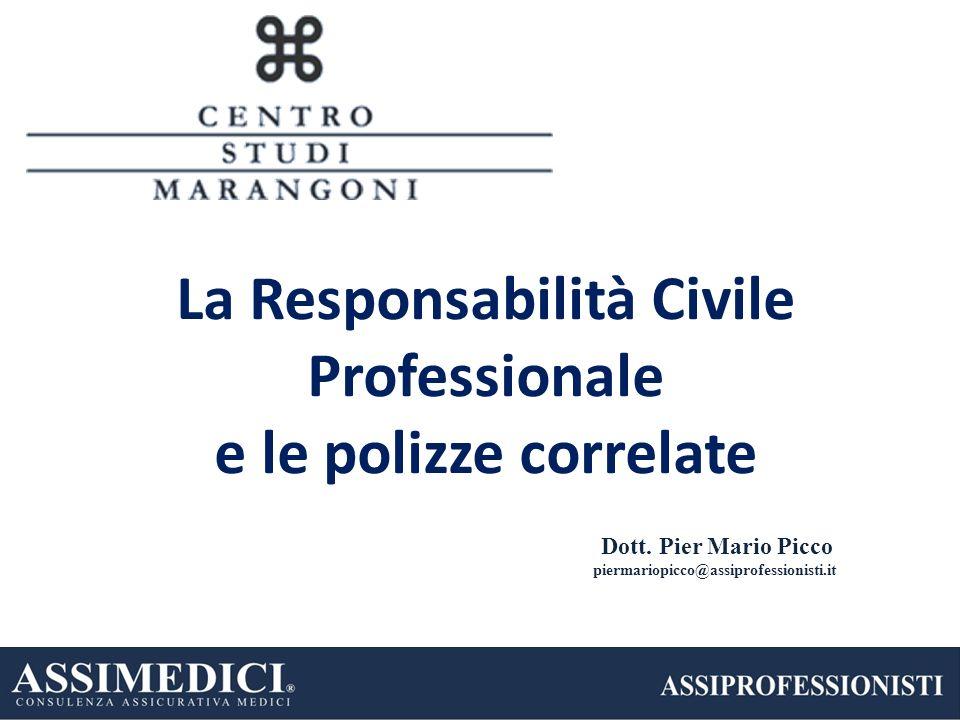 La Responsabilità Civile Professionale e le polizze correlate