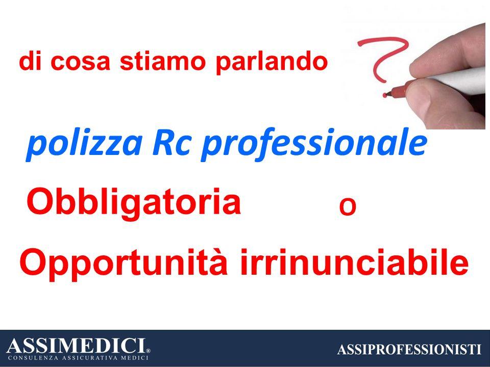 polizza Rc professionale