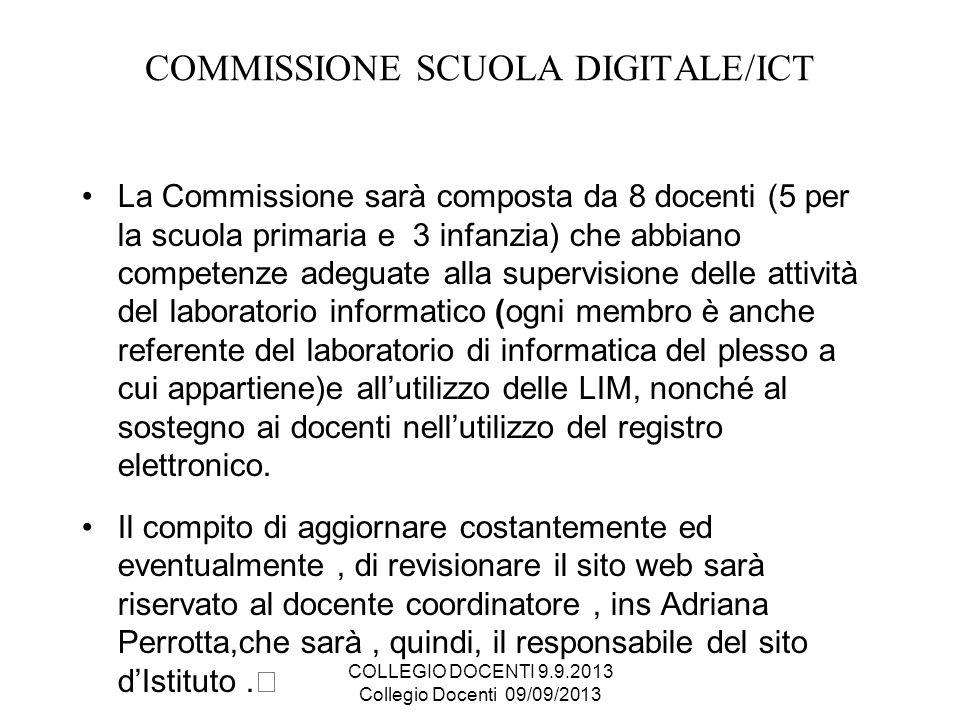 COMMISSIONE SCUOLA DIGITALE/ICT