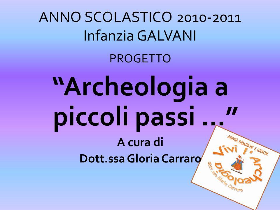 ANNO SCOLASTICO 2010-2011 Infanzia GALVANI