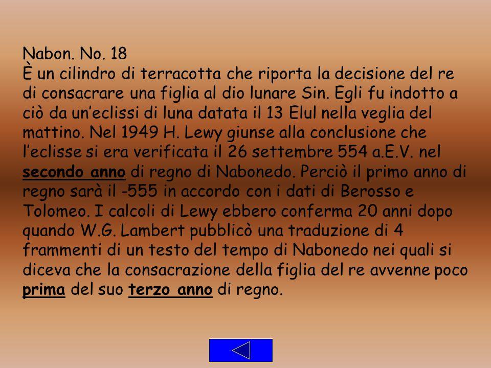 Nabon. No. 18