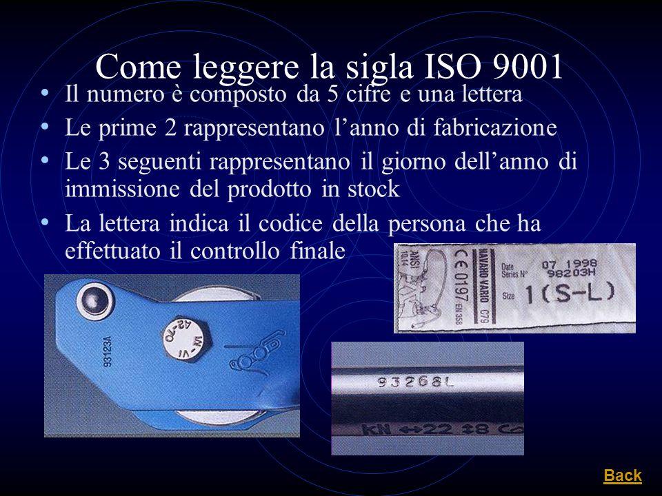 Come leggere la sigla ISO 9001