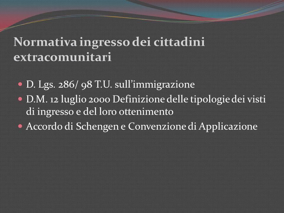 Tipologie di permesso di soggiorno ppt scaricare for Permesso di soggiorno schengen