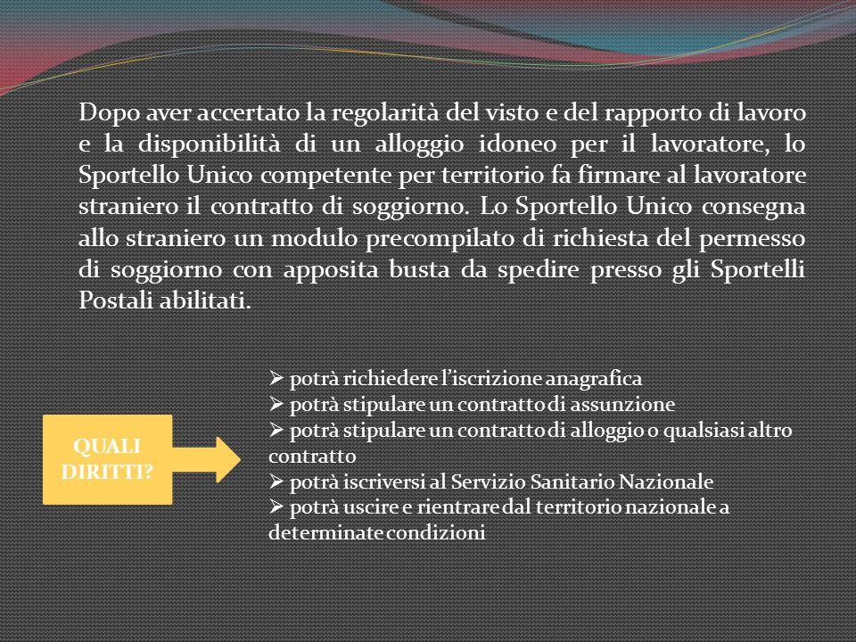 Tipologie di Permesso di Soggiorno - ppt scaricare