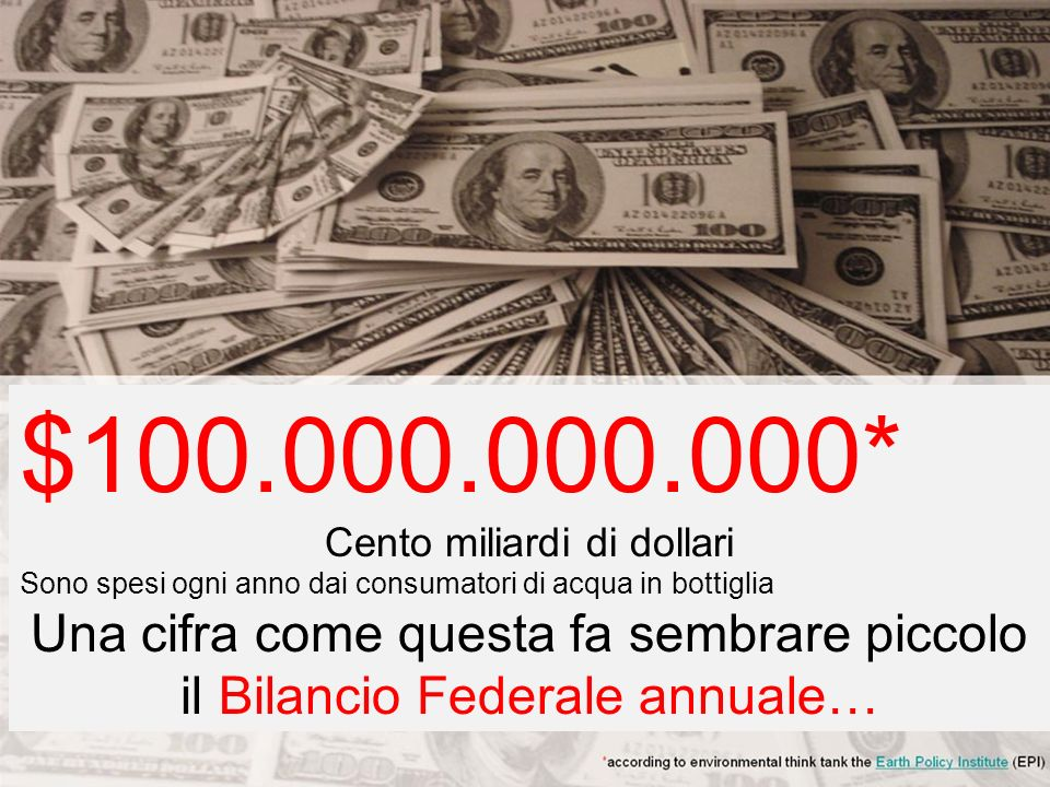 Cento miliardi di dollari