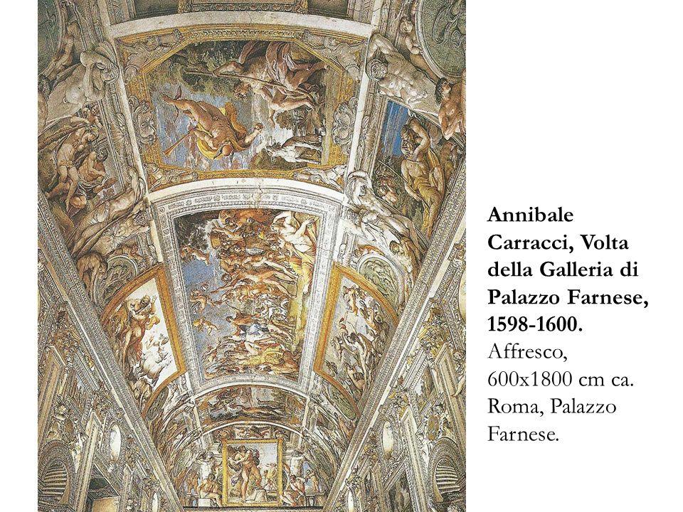 Ludovico agostino e annibale carracci e l accademia degli for Ca roma volta mantovana
