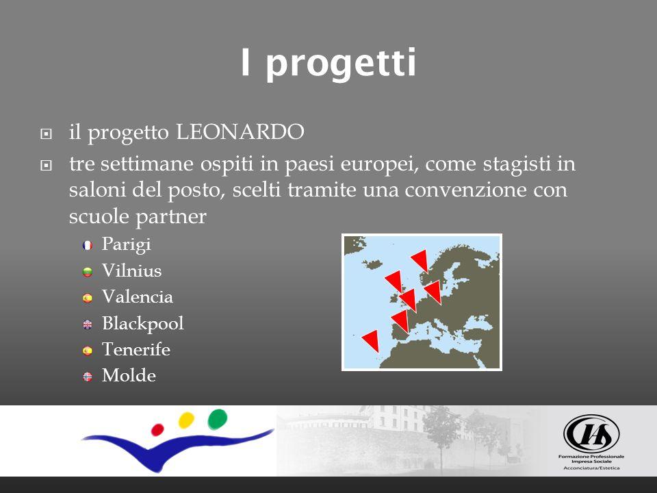 I progetti il progetto LEONARDO