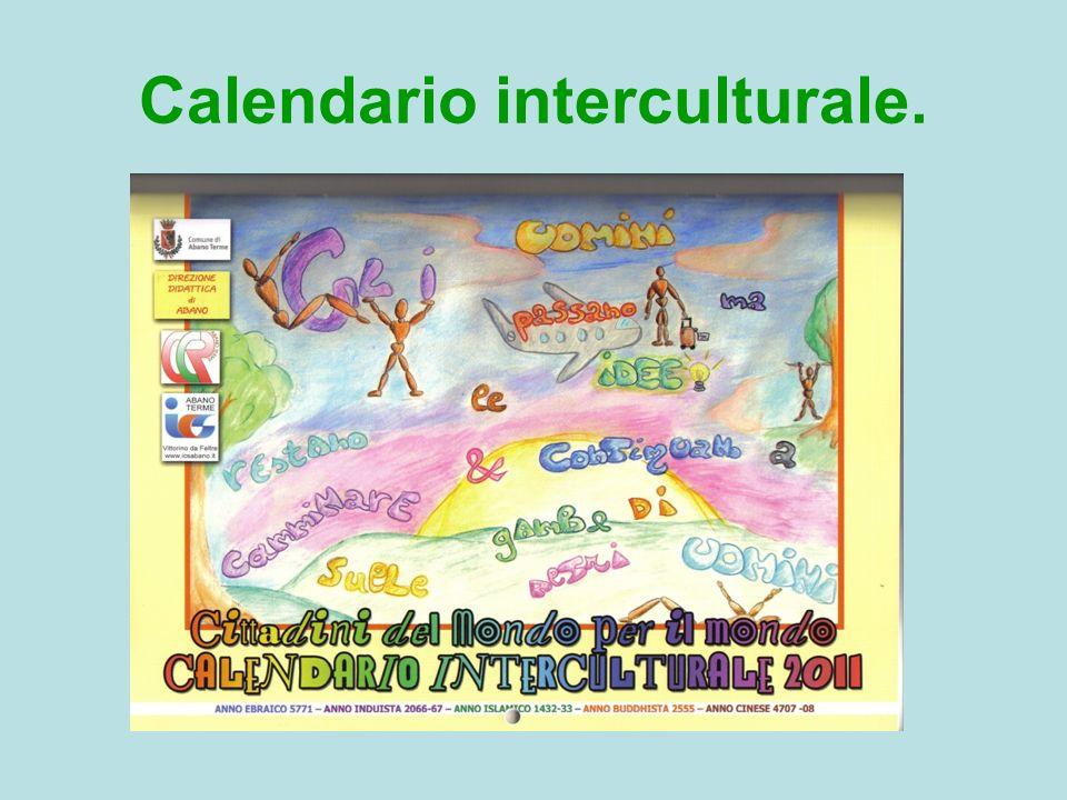 Calendario interculturale.