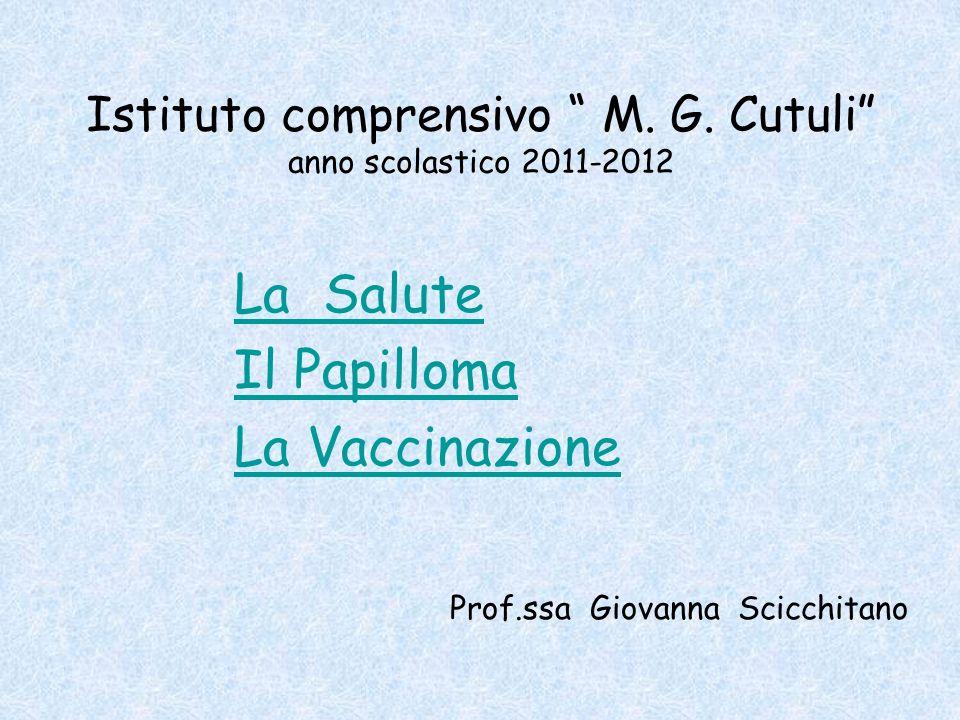 Istituto comprensivo M. G. Cutuli anno scolastico 2011-2012