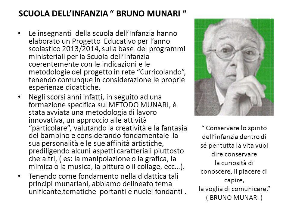 SCUOLA DELL'INFANZIA BRUNO MUNARI