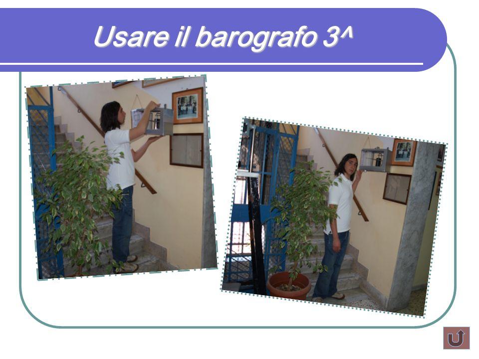 Usare il barografo 3^
